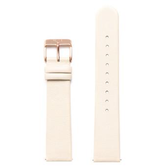 FELIX B Leather Strap - Beige/Rose Gold - NOK 349,- I BUY NOW 👉