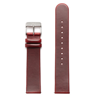 FELIX B Leather Strap - Red/Silver - NOK 349,- I BUY NOW 👉