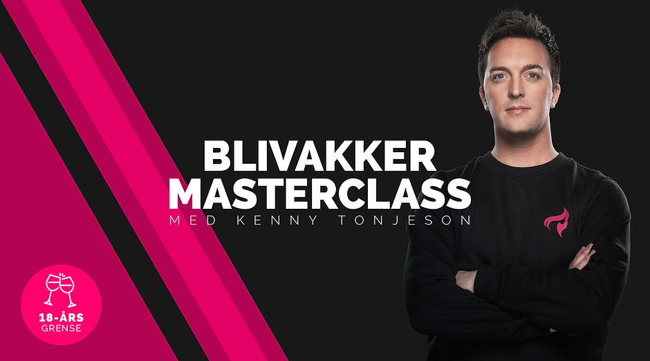 Blivakker Masterclass med Kenny Tonjeson