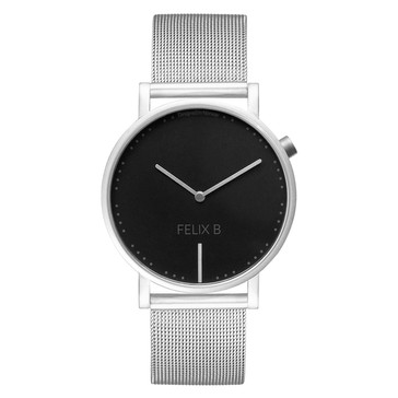 FELIX B Ren Natt Silver/Black - Mesh - NOK 1499,- I BUY NOW 👉