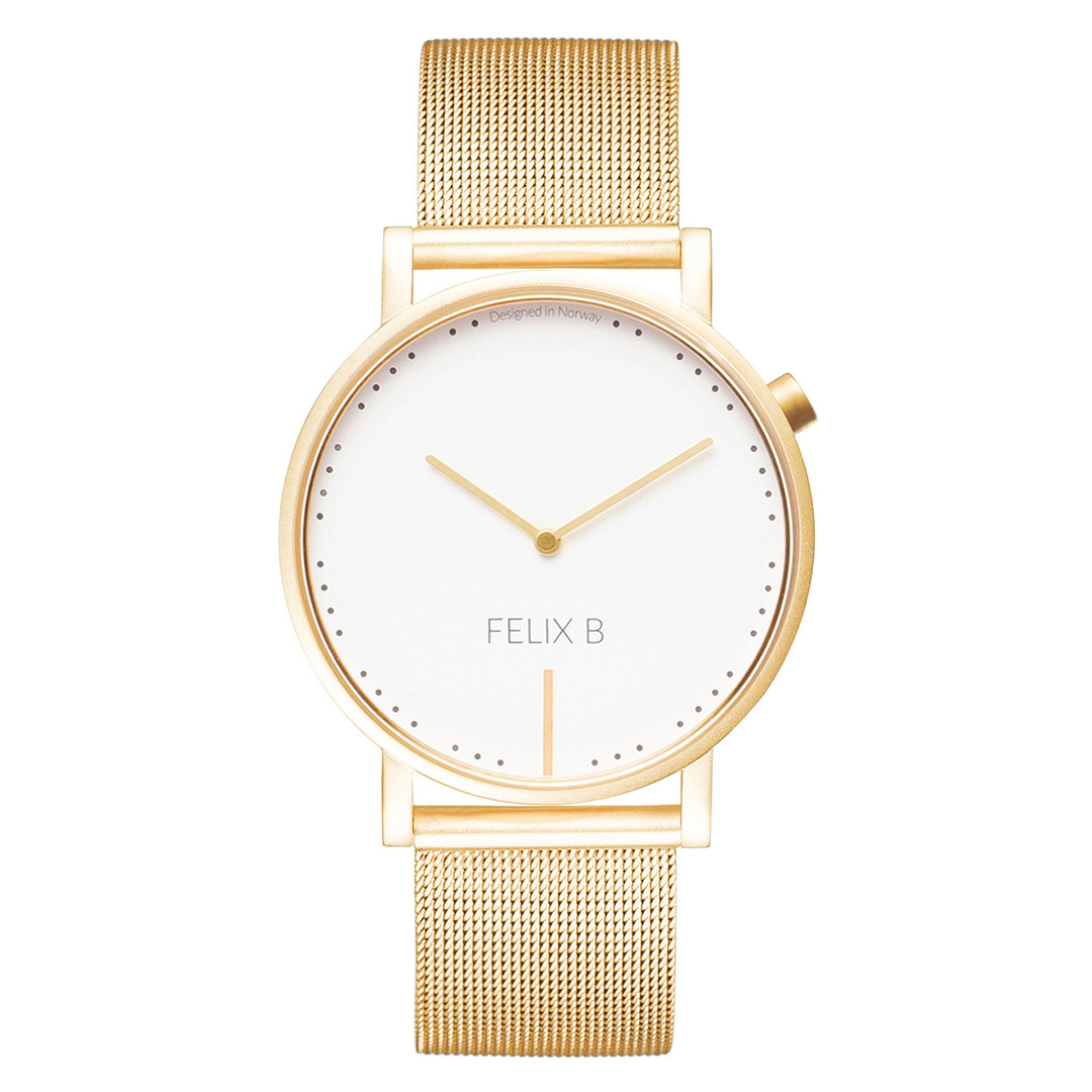 Felix B Ren Dag Gold/White - Mesh - NOK 1499,- I BUY NOW 👉