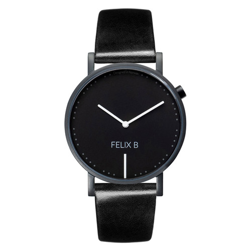 FELIX B Ren Natt Kontrast Black/Black/Black - Leather - NOK 1299,- I BUY NOW 👉