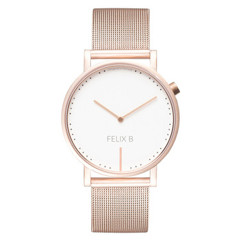 FELIX B Ren Dag Rose Gold/White - Mesh - NOK 1499,- I BUY NOW 👉