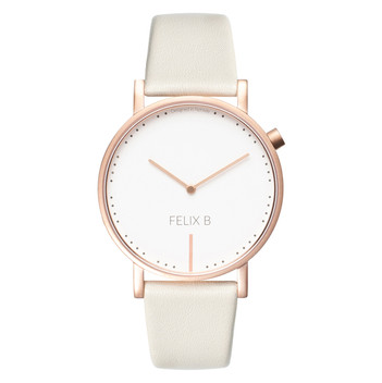 FELIX B Ren Dag Rose Gold/White/Beige - Leather - NOK 1299,- I BUY NOW 👉