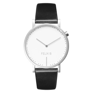 FELIX B Ren Dag Silver/White/Black - Leather - NOK 1299,- I BUY NOW 👉