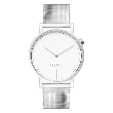 FELIX B Ren Dag Silver/White - Mesh - NOK1499,- I BUY NOW 👉