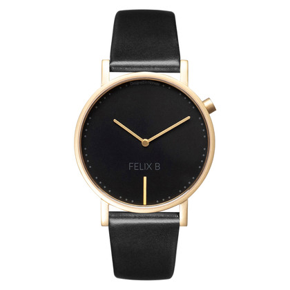FELIX B Ren Natt Gold/Black/Black - Leather - NOK 1299,- I BUY NOW 👉