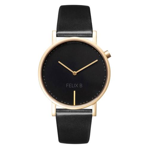 FELIX B Ren Natt Gold/Black/Black - Leather - NOK 1299,- I BUY NOW 👉
