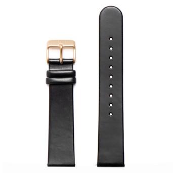 FELIX B Leather Strap - Black/Gold - NOK 349,- I BUY NOW 👉
