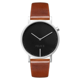 FELIX B Ren Natt Silver/Black/Brown - Leather - NOK 1299,- I BUY NOW 👉
