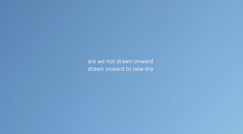 film: are we not drawn onward