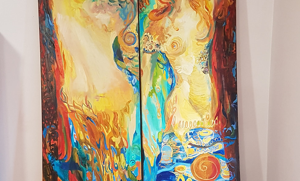 Two elements. Olga Petrovskaya-Petovradzi