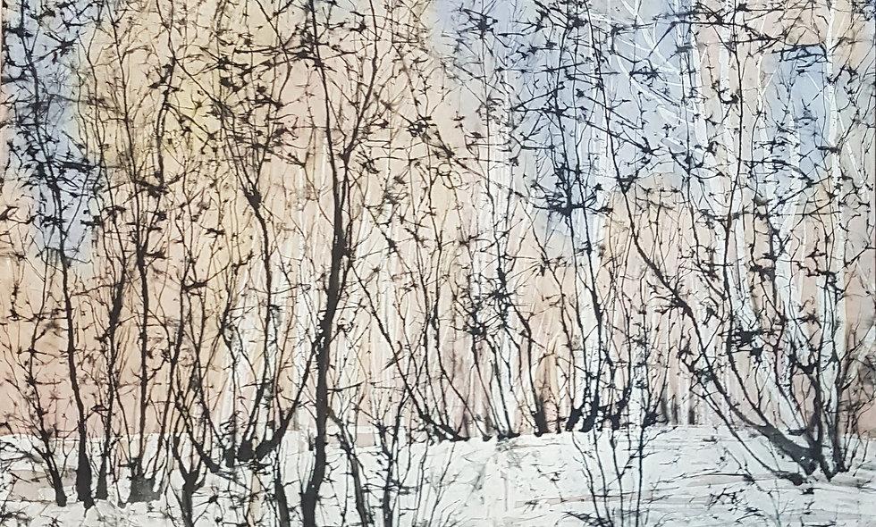 Winter forest. Olga Zhukova
