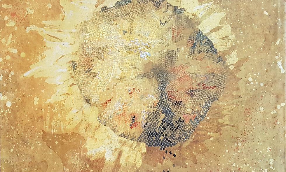 Sunflower. Angelina and Ekaterina Zhukova