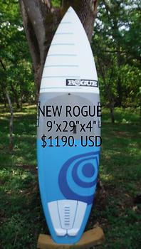 """New Rogue SUP 9'x29""""x4"""" $1190 at Playa Negra SUP wave riders"""