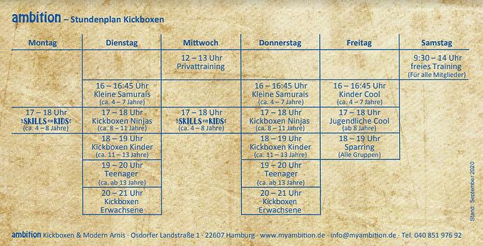 ambition Stundenplan Kickboxen 092020.jp