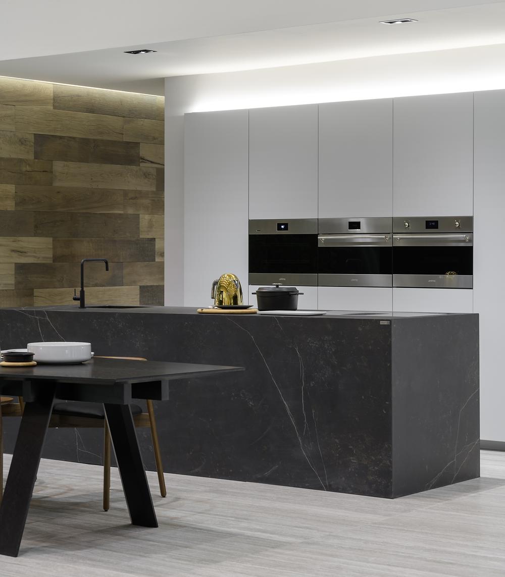 Nord Pavilion - Sala e Cozinha - Ambientes & Tendência na Intercasa 2019