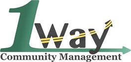 One Way Community Logo HOA Daniel James Media