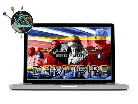 DJM Daniel James Media Tribe Laptop Logo