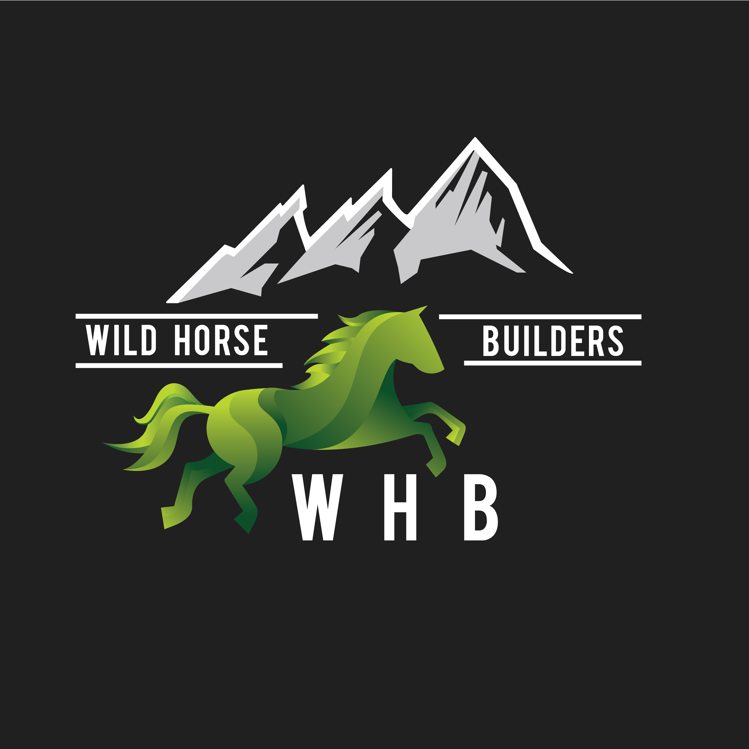 Wild Horse Builders Logo Colors-0