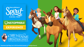 Spirit Dreamworks Riding Free Cheyenne Frontier Days (Once in a Lifetime Events)