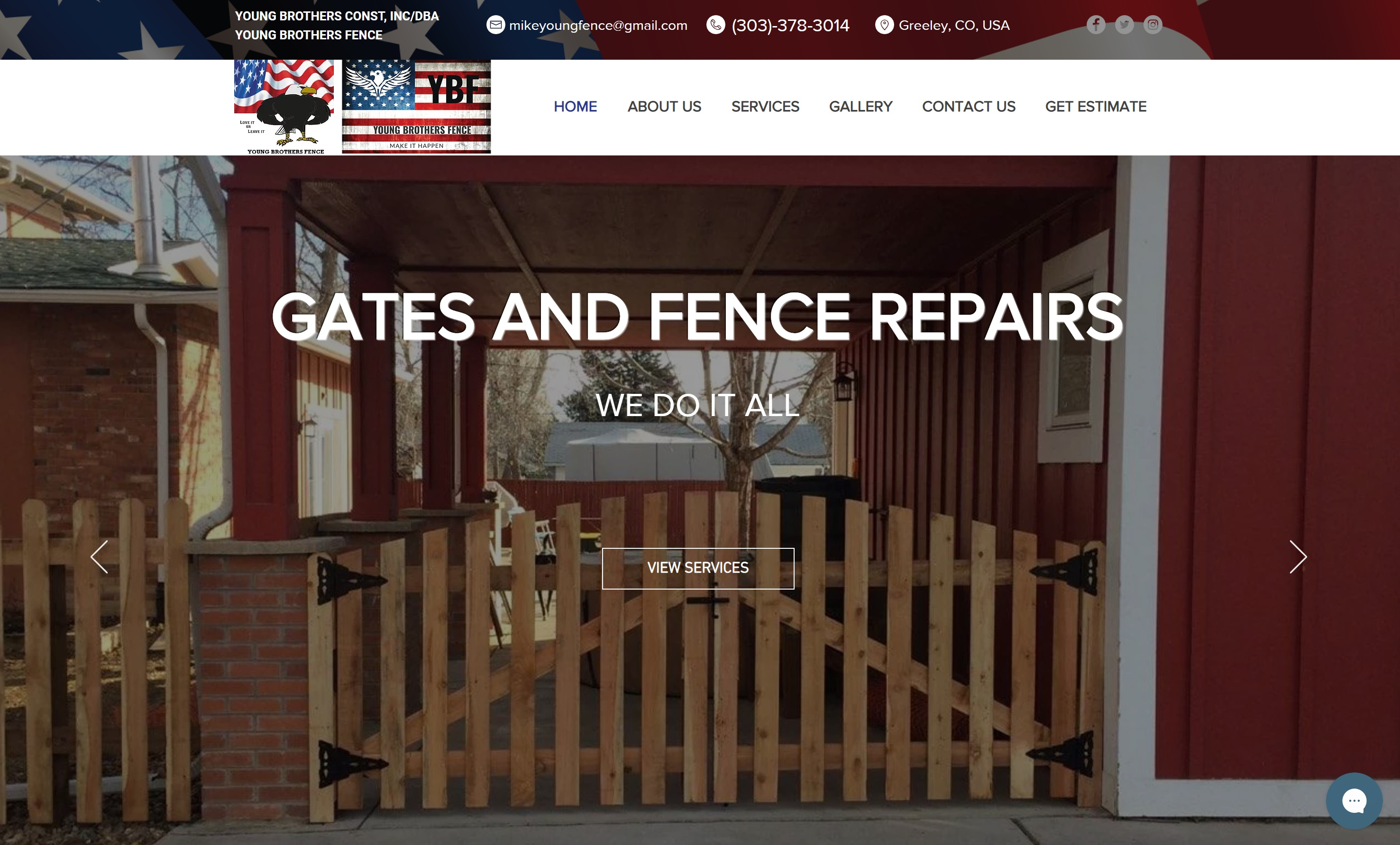 Young Brothers Fence Greeley Designed by