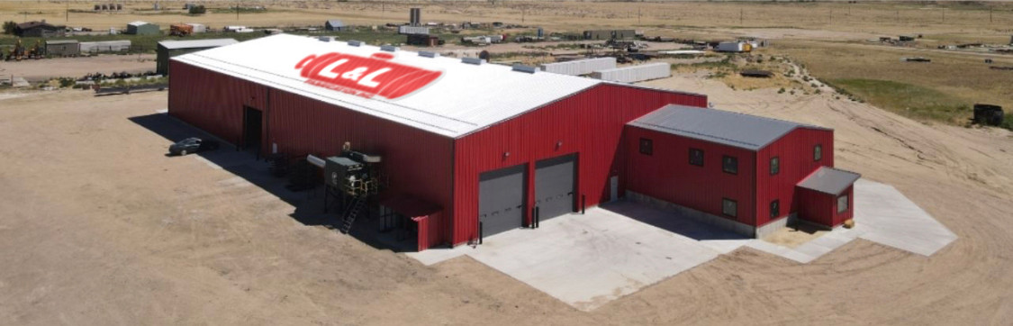 Lnl Fabrication Red Warehouse Colorado w