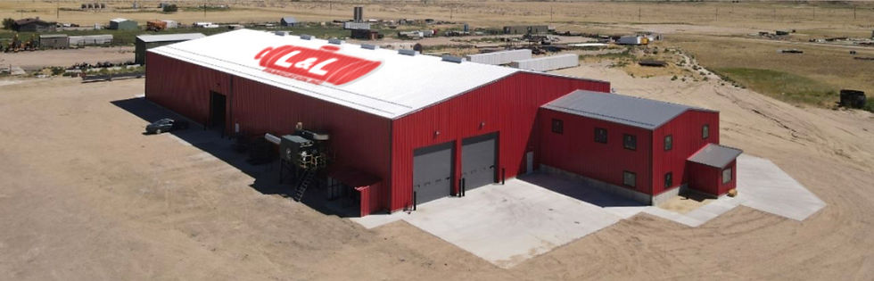 Lnl Fabrication Red Warehouse Colorado w
