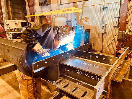 LnL Fabrication Welder Welding Steel Str