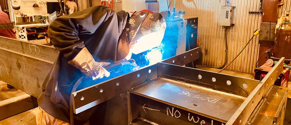 LnL Fabrication Welder Welding Steel Str
