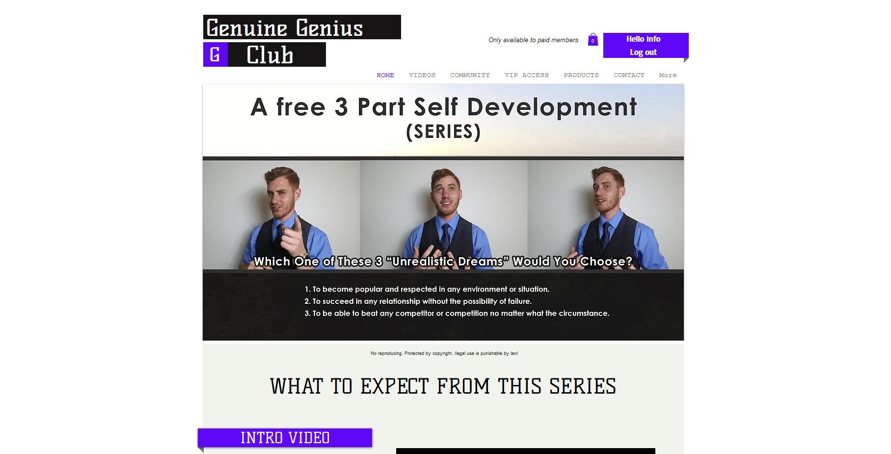 Genuine Genius Club