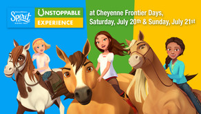 Spirit Dreamworks Riding Free Cheyenne Frontier Days (Once in a Lifetime Events) 2