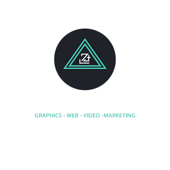 Daniel James Media Full logo (White Font