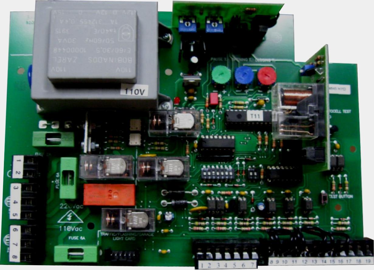 G2M+ gate opener control board custom - Byan Systems Inc