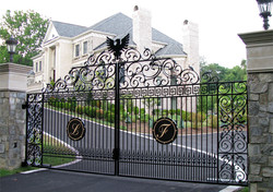 smart gate opener luxury home gate - Byan Systems Inc