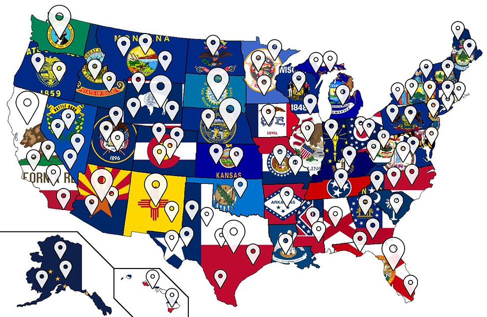 United-States-Map-With-Flag-drawing FIna