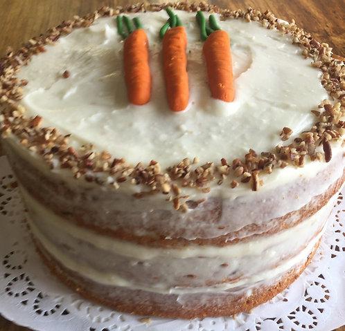 """Carrot Cake 9"""" (Serves 20-24)"""