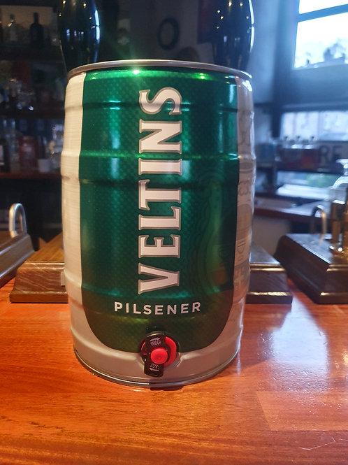 Veltins Pilsener 5L Mini Keg 4.8% abv