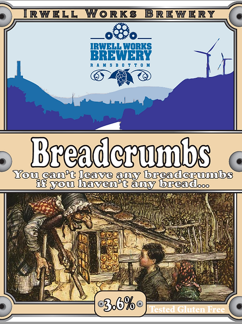 Breadcrumbs - 3.6% abv.- Bag-in-Box