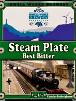 Steam Plate Best Bitter- 4.3% abv. - Bag-in-Box
