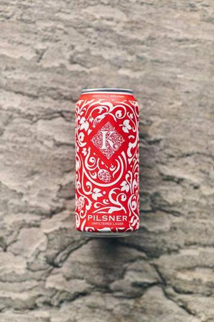 Kirkstall Pilsner 440ml Cans (Case 12) 4.0% abv