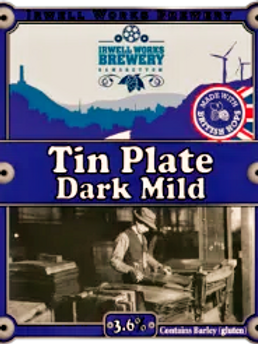 Tin Plate Dark Mild - 3.6% abv.- Bag-in-Box