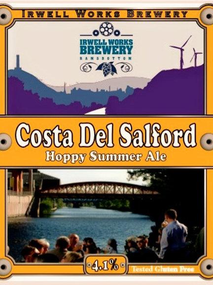 Costa Del Salford - 4.1% abv. - Bag-in-Box