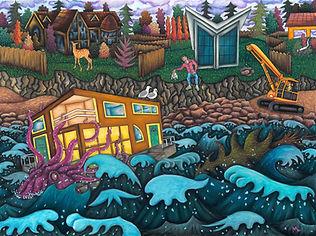 Pastel painting by Matt Lome