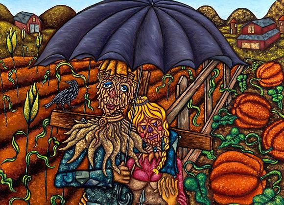 A Couple of Scarecrows
