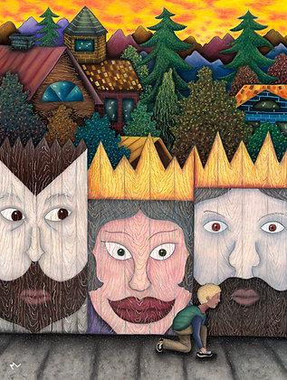 Purim Mural