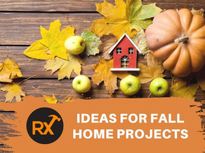 Ideas for Fall Home Projects