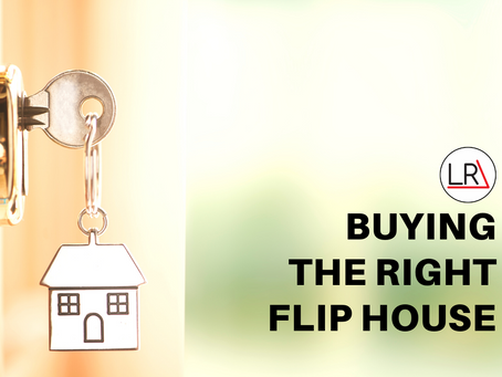 Buying the Right Flip House