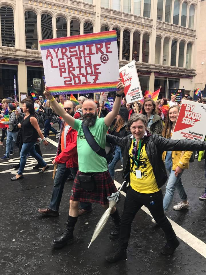 Party On! at Glasgow Pride!
