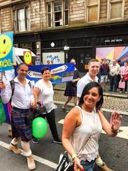 Smile for Glasgow Pride!